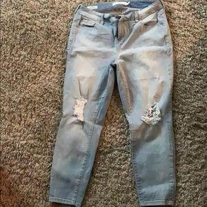 Torrid Girlfriend Jeans Size 14R